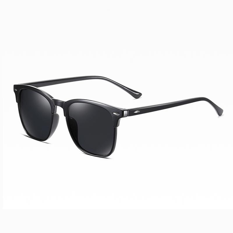 Klarec EyeWear - SunGlasses - HD Polarized - Bright Black