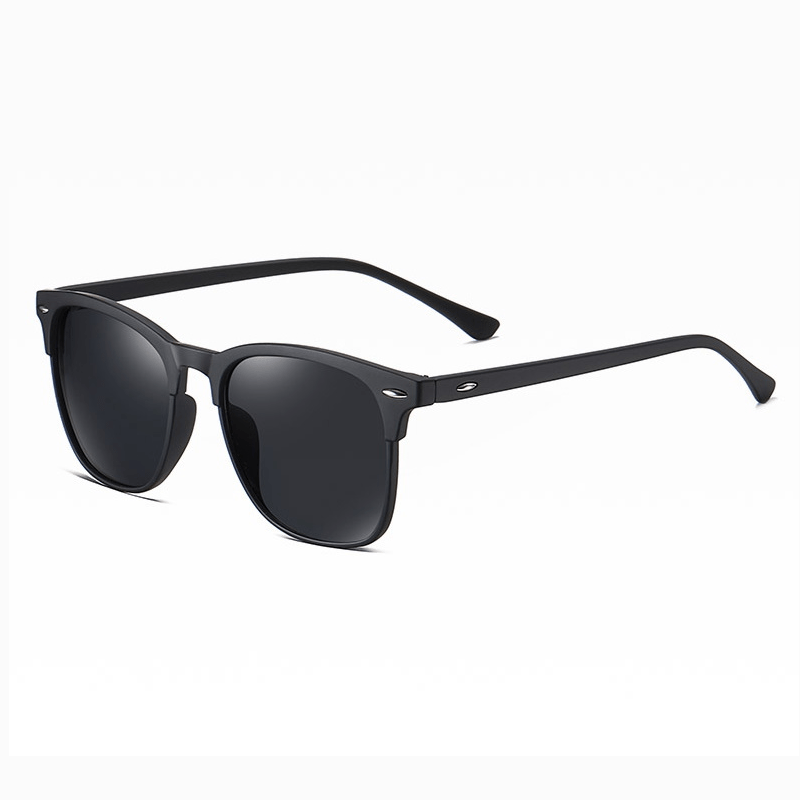 Klarec EyeWear - SunGlasses - HD Polarized - Dark Black