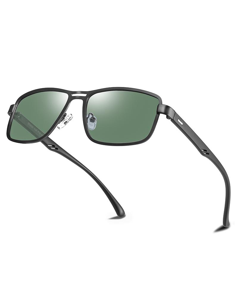 Klarec EyeWear - SunGlasses - HD Polarized - Matte Black Green