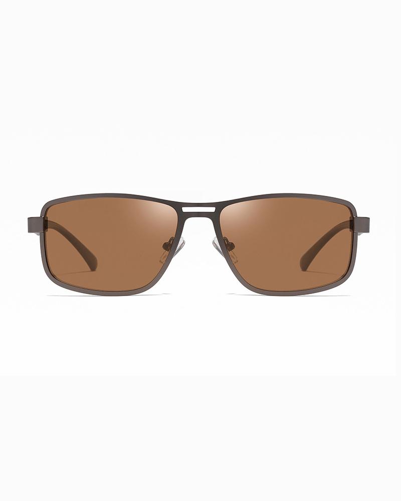 Klarec EyeWear - SunGlasses - HD Polarized - Matte Gun Tea