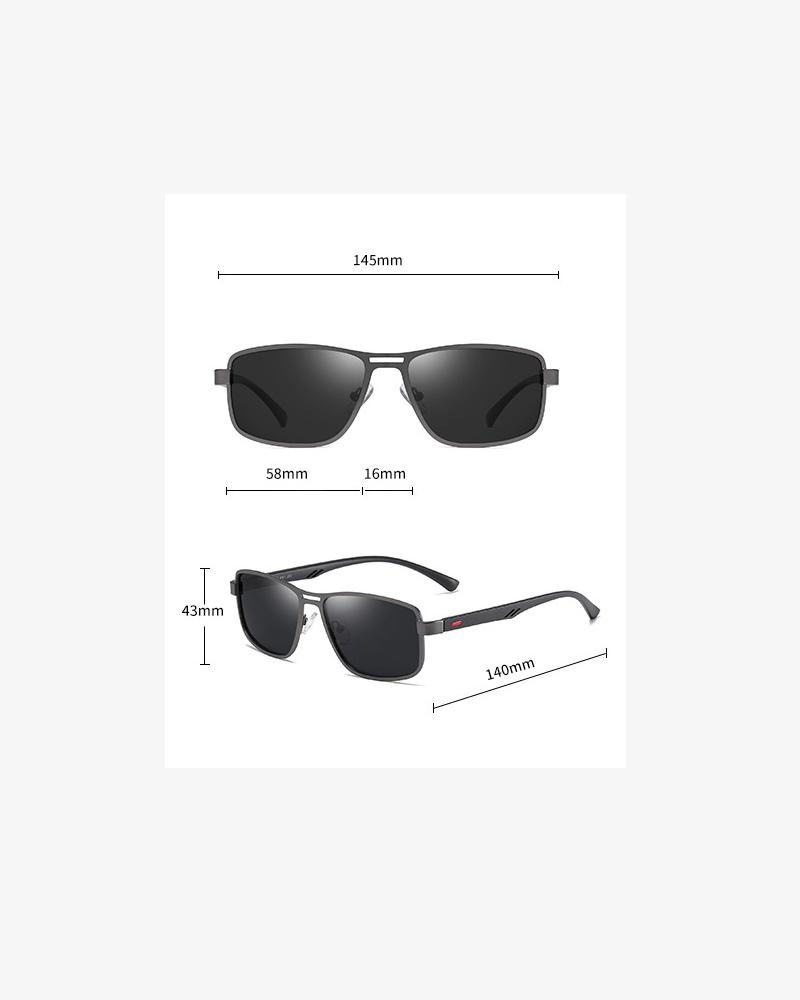 Klarec EyeWear - SunGlasses - HD Polarized - Matte Deep Gun Grey