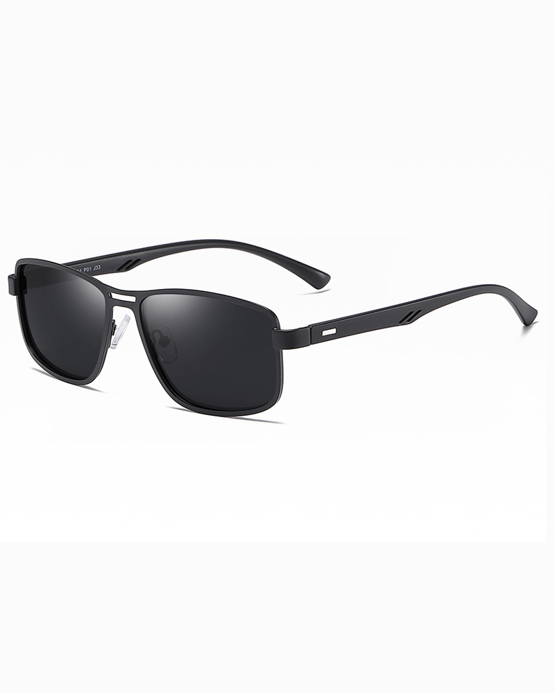 Klarec EyeWear - SunGlasses - HD Polarized - Matte Black