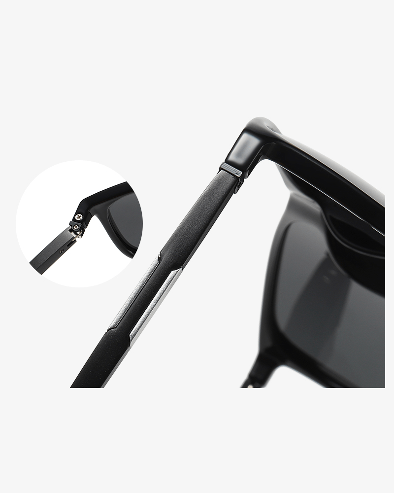 Klarec EyeWear - SunGlasses - HD Polarized - Black Gun Grey