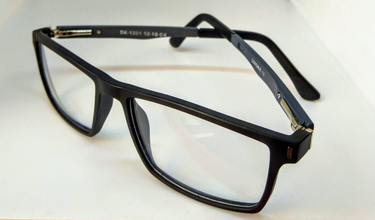 EyeGlasses – Super Flexible and unbreakable - Red and Black - Round Shape